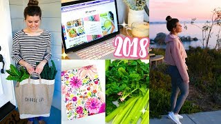 Are you ready to start a healthy lifestyle in 2018!? fitness tips + recipes coming your way!! let's do this 2018!! we're going make new year the ...