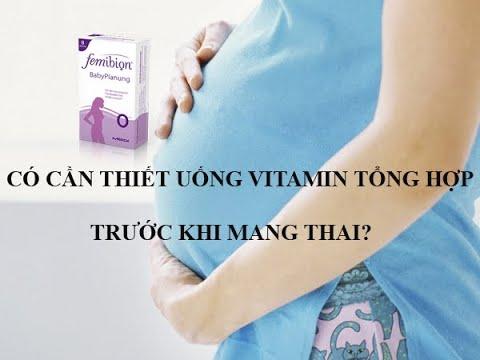 Femibion số 0 Đức|| Có cần thiết uống Vitamin tổng hợp trước mang ...