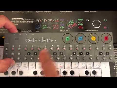 Teenage Engineering OP-Z, Deep House Demo