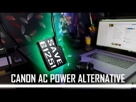 SAVE €125! - Canon AC-E6N + DR-E6 or DR-E18 Alternative