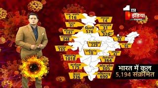 Covid-19: भारत मे 5194 हुए Corona पॉजिटिव, देखिए किस राज्य में कितने पॉजिटिव | 8 April 2020