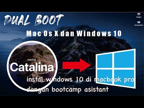 Cara Instal Windows 10 Di Macbook Pro 2012 MacOS CATALINA