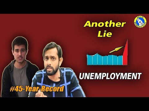 Unemployment Report: How Dhruv Rathee manipulated NSSO Data | AKTK
