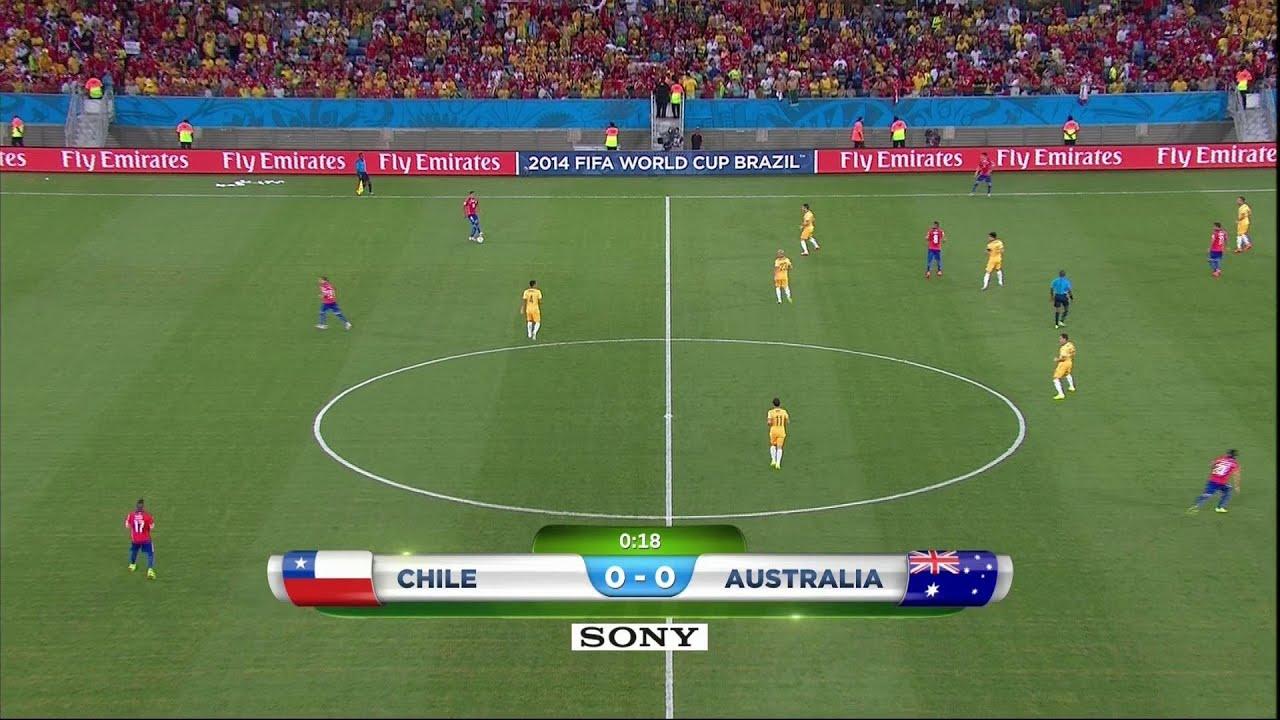 Resultado de imagem para Chile v Australia 2014 TVN