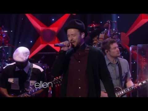 "Justin Timberlake - TKO (Live On ""Ellen"" 2013)"