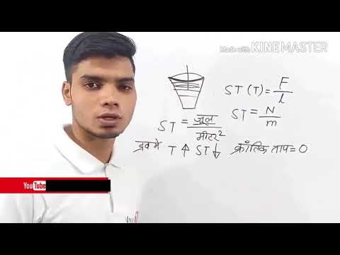 """Watch """"surface tension and capillarity   physics in hindi   physics for ssc   mp   govt exams   psc"""