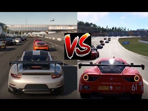 forza 7 vs project cars 2 xbox one x v pc comparison. Black Bedroom Furniture Sets. Home Design Ideas