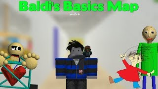 ROBLOX SCRIPT SHOWCASE: Baldi's Basics Map