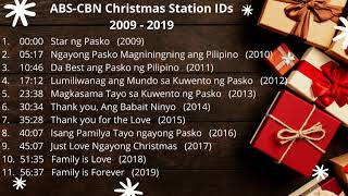 ABS CBN Christmas Station ID Non-stop Compilation (2009 - 2019)