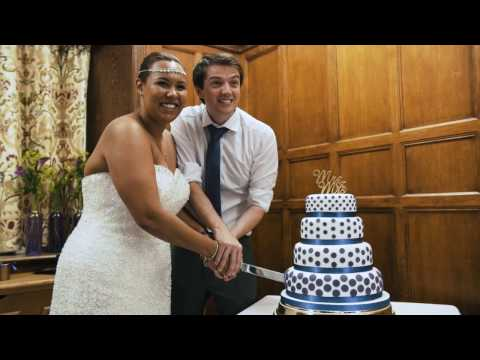 Charlotte and Shauns wedding video, Charlton House, Charlton