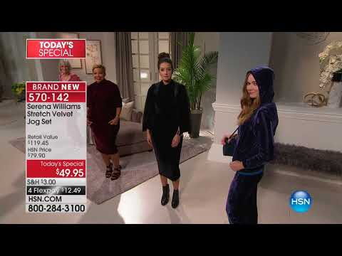 HSN | SERENA WILLIAMS Signature Statement Fashions 09.11.2017 - 10 PM