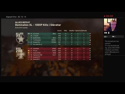 Cider Rage - COD WW2  - RG Live PS4 Broadcast