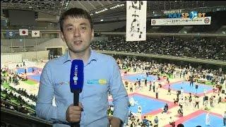 Казахстанцы выступают на Чемпионате мира по киокушинкай-кан каратэ