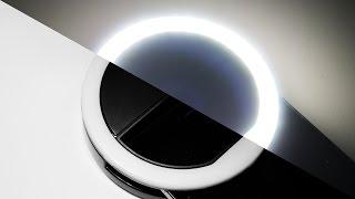 Jak zrobić selfie w ciemnościach? – lampa do telefonu z aliexpress