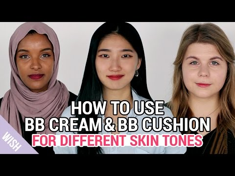 The Best Korean BB Cream & BB Cushion for Different Skin Tones | What is BB Cream? | Wishtrend