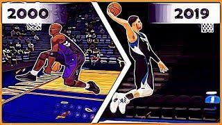 NBA SLAM DUNK CONTEST Winners ratings in NBA 2K games