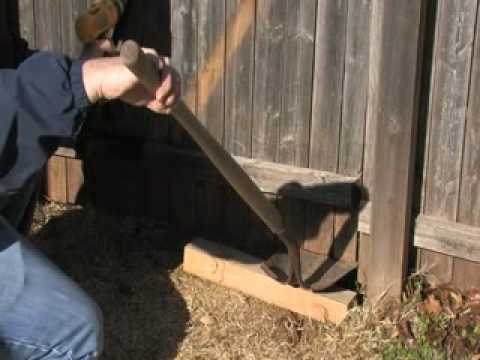 EZBrace Installation Video How to fix a sagging wood