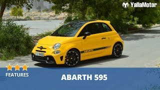 Abarth 595 2018 Special Features | YallaMotor.com
