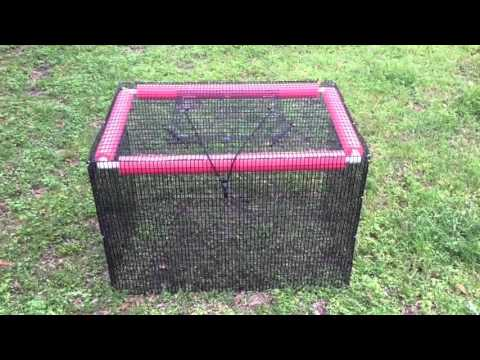Make your own floating live well for under doovi for Live fish basket