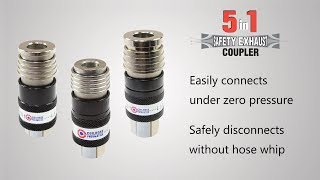 5-in-1 Safety Exhaust Coupler