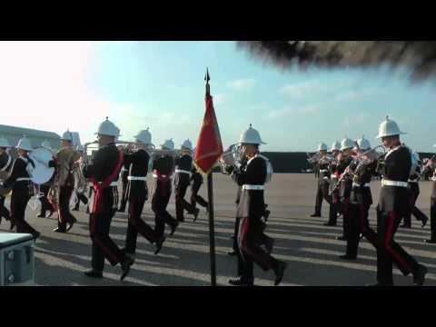Royal Marine Young Officer's Passout Parade 2012