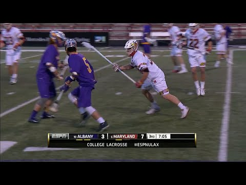 Maryland defending the Albany 2-man game