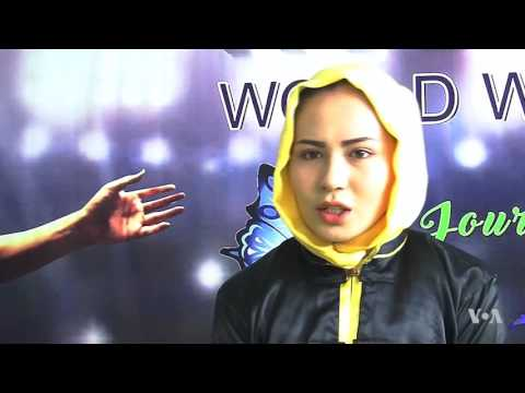Afghan Woman Overcomes Opposition to Excel at Martial Arts