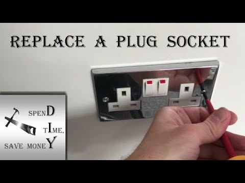 How To Safely Replace An Electrical Wall Socket UK, Plug Socket