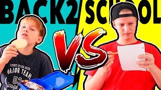 TEENAGER VS KIND 👱♂️💥👶 BACK TO SCHOOL 🤣 KRASS TipTapTube