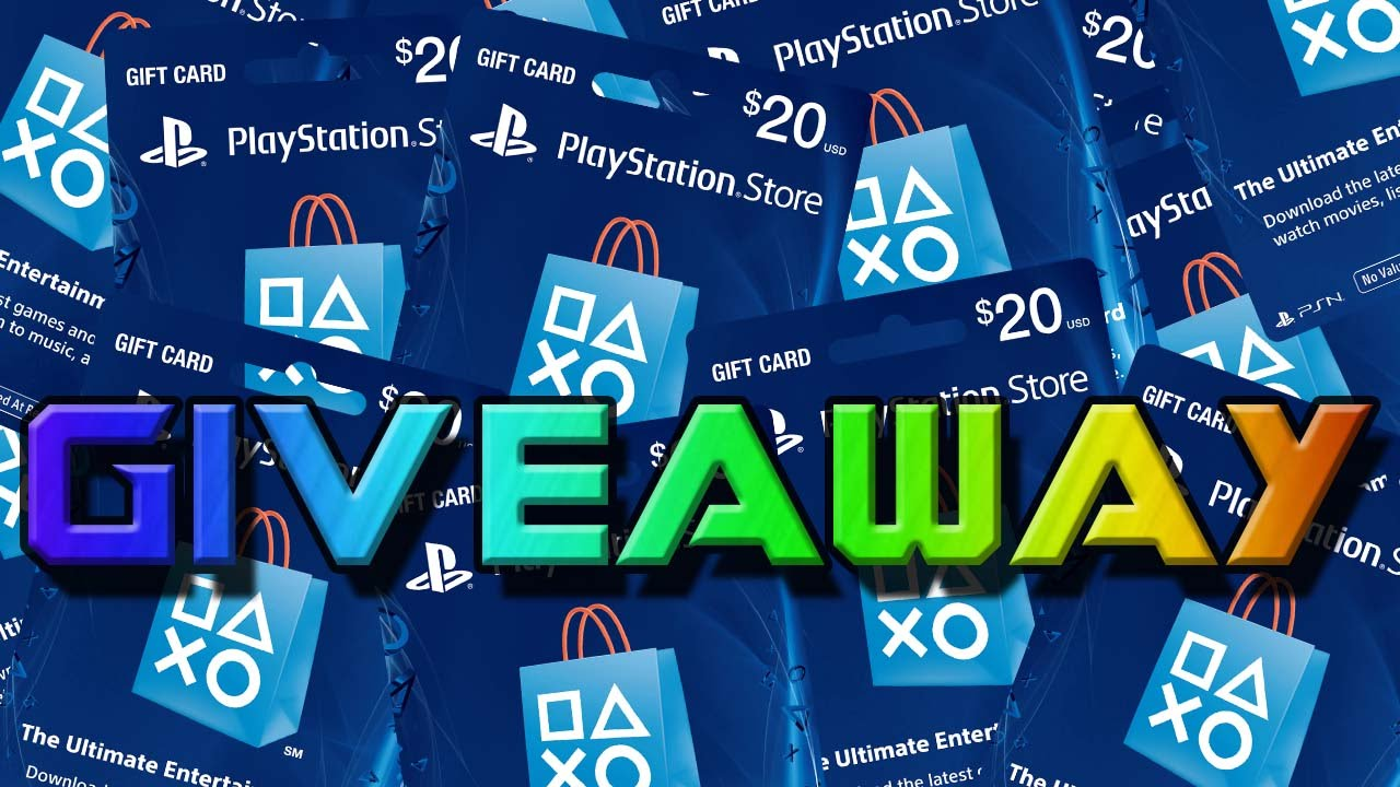 Playstation 3 giveaway