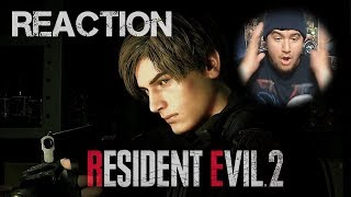 Chris Loses It - Resident Evil 2 Reaction