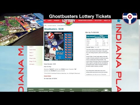 Video Ghostbusters Lottery Tickets Indianapolis Indiana News