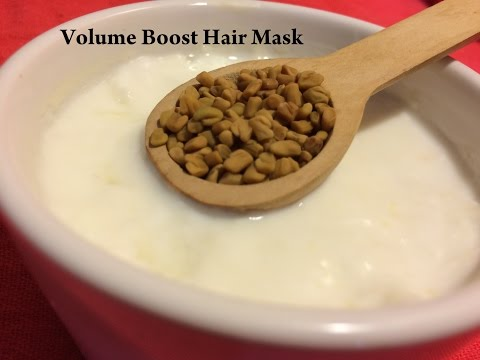 Volume Boosting fenugreek/methi Hair Pack