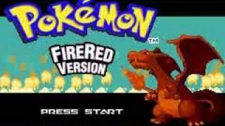 Pokemon Fire Red Version Intro