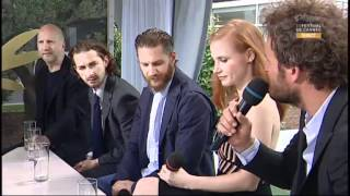The Cast Of Lawless - Interview In Cannes
