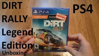 Unboxing Dirt Rally Legend Edition PS4 Game