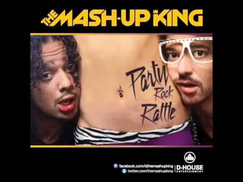 LMFAO vs BINGO PLAYERS Party Rock Rattle (The Mash-Up King Remix)
