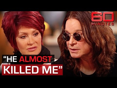 Ozzy Osbourne reveals he almost killed Sharon in drunken rage  60 Minutes Australia