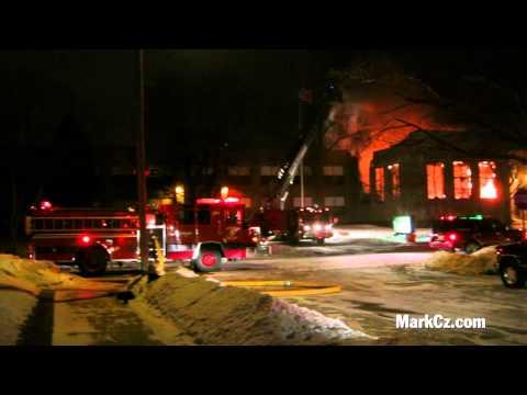 Mitchell School Fire, Racine WI