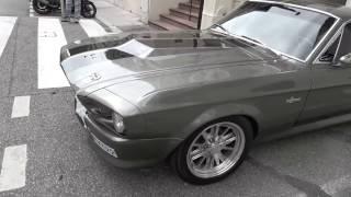 "[4k] Ford Mustang GT500 ""Eleanor"" in Monte Carlo, Monaco April 2017"
