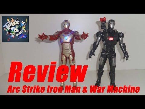 Review ARC STRIKE IRON MAN & WAR MACHINE do filme Homem de Ferro 3