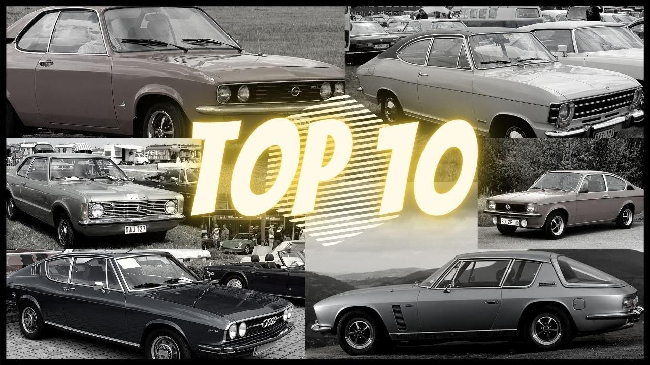 TOP 10 – Muscle cars européens