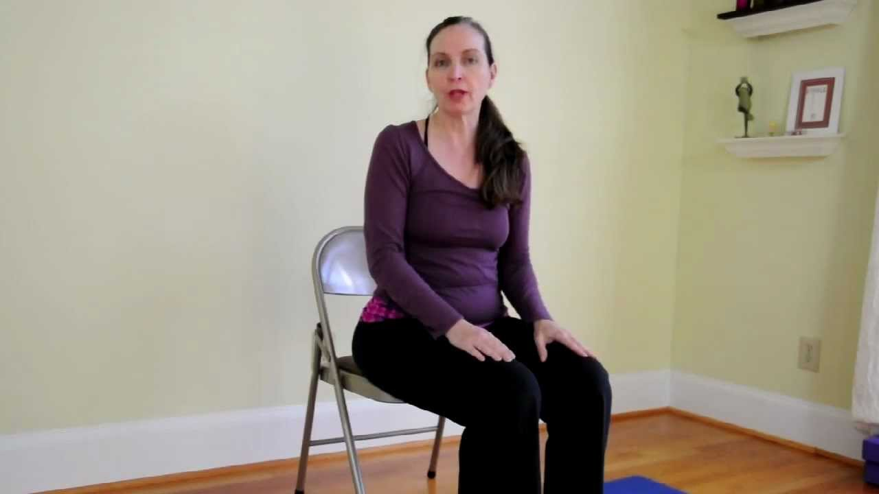 Chair Yoga Poses For Constipation