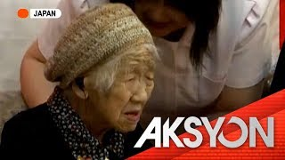 Lola sa Japan, itinanghal na World's Oldest Living Person ng Guinness