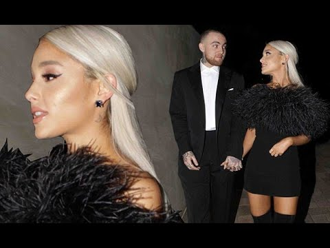Ariana Grande makes first appearance in six months at Oscar party