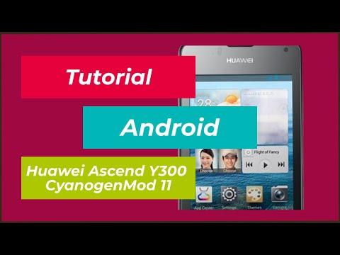 Tutorial | Huawei Ascend Y300 CyanogenMod 11 [Android 4.4.4] flashen + ClockworkMod | Deutsch