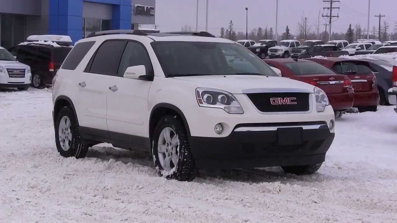 Gmc Acadia Limited >> 2012 GMC ACADIA SLE ALL WHEEL DRIVE in Review, Red Deer ...
