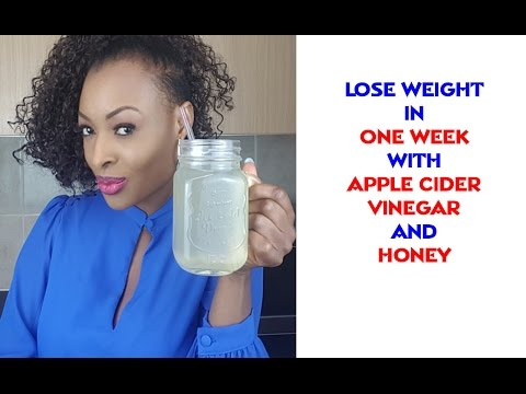 lose-weight-in-one-week-with-apple-cider-vinegar-and-honey