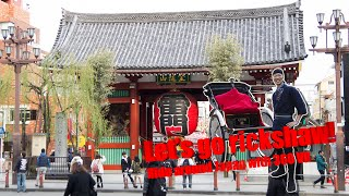 Let's go Rickshaw! Ride around Japan with 360 VR [Asakusa 01]