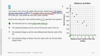 Ohio AIR Test Algebra EOC #2